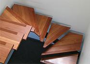 Escaliers Acier et bois