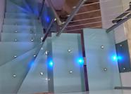 Escaliers Inox et verre